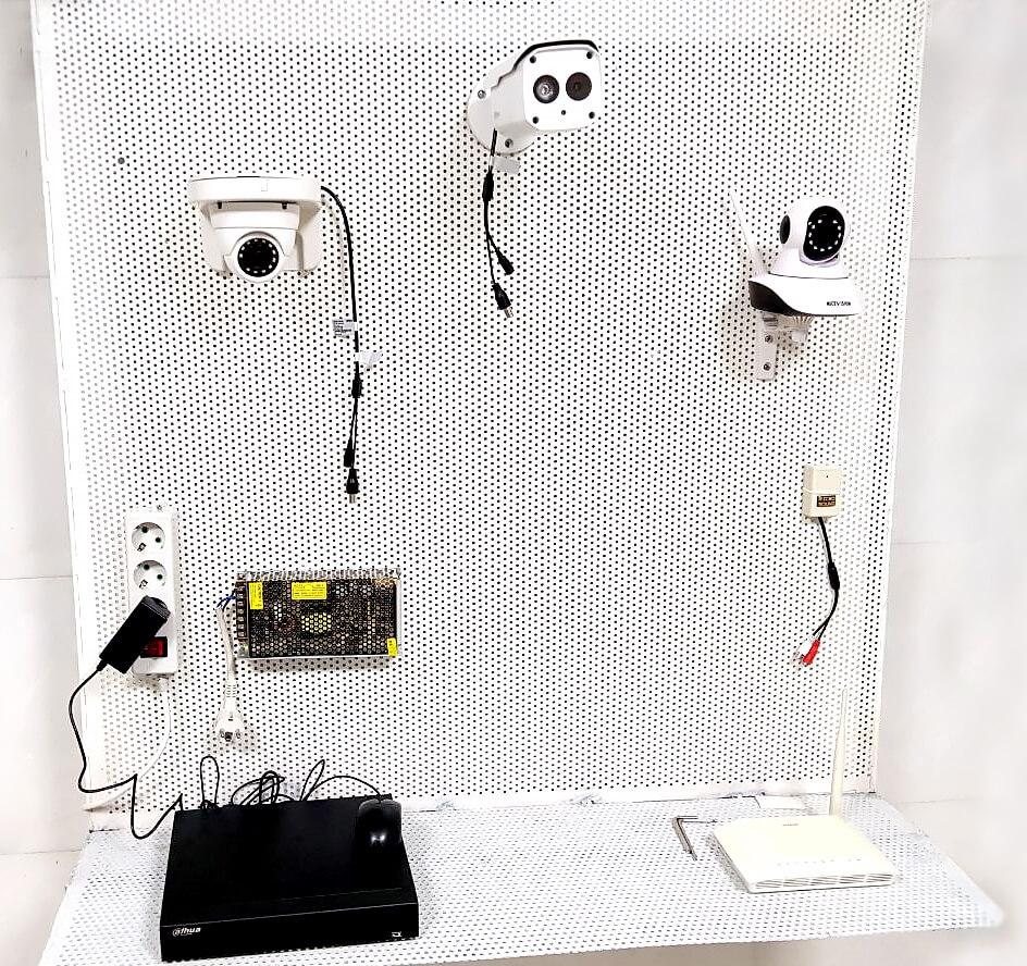 کارگاه عملی آموزش نصب دوربین مدار بسته دارالفنون