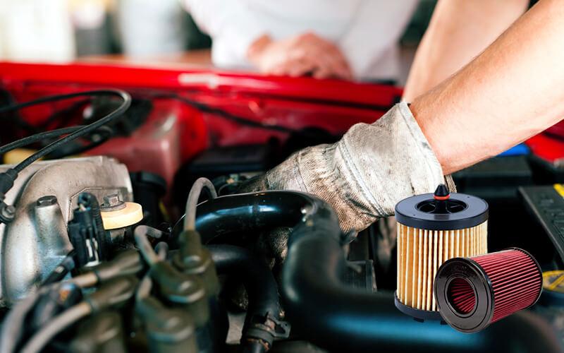 چند نوع فیلتر هوای خودرو داریم؟