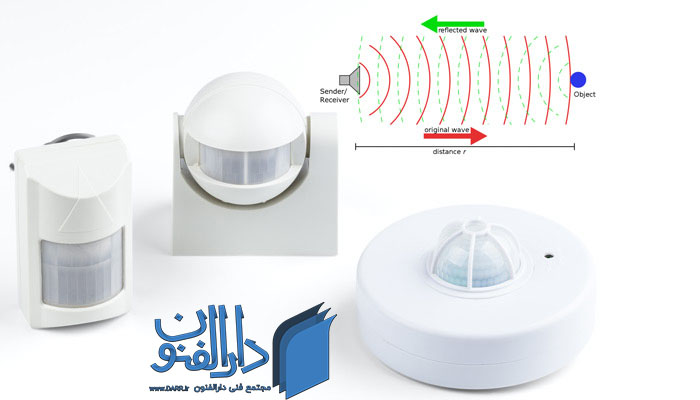طریقه نصب سنسور حرکتی راه پله