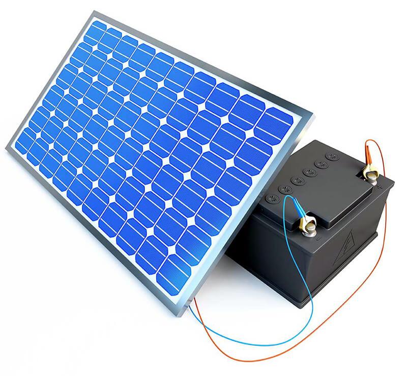 انواع باتری های مورد استفاده در سیستم های خورشیدی