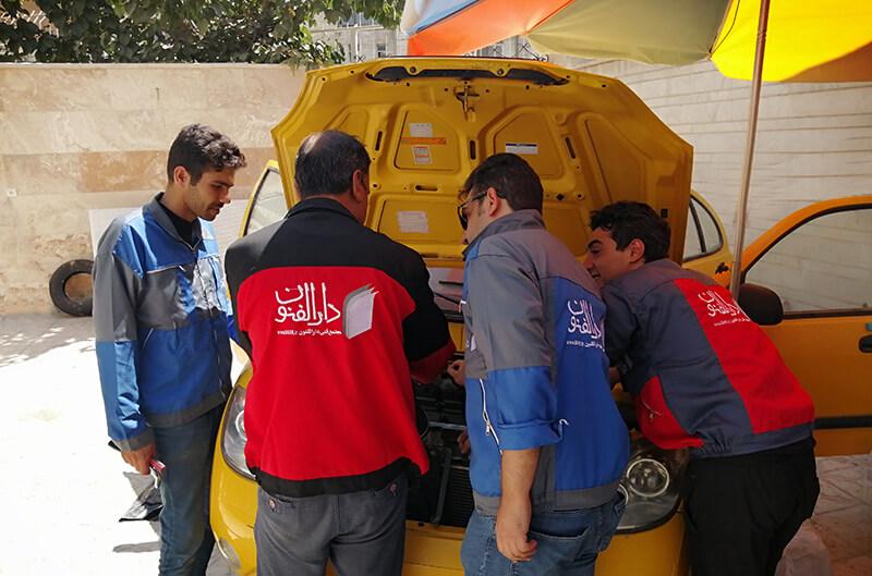کارگاه عملی دوره آموزش باتری سازی و آموزش برق خودرو