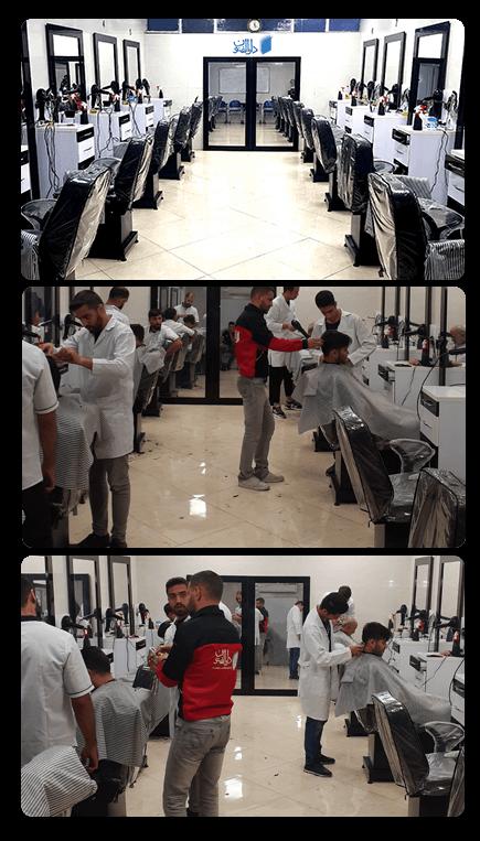 کلاس های آرایشگری مردانه