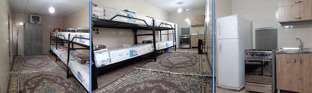 شرکت در کلاس فنی حرفه ای با امکان اقامت در خوابگاه