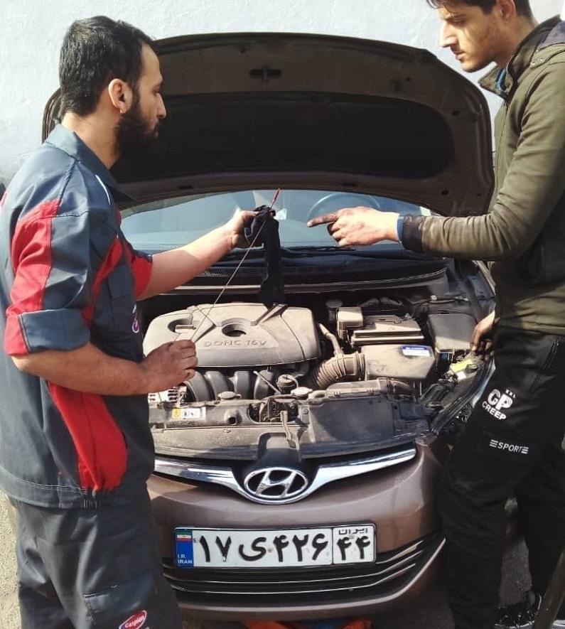آموزش سرویس و نگهداری خودرو