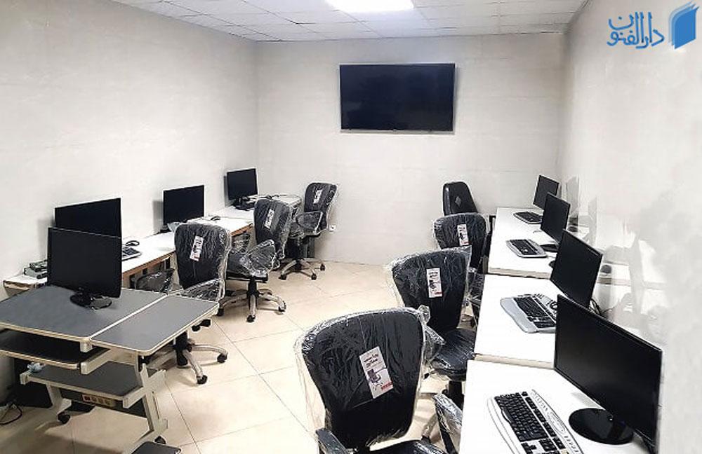 کلاس محل برگذاری دوره آموزش ICDL