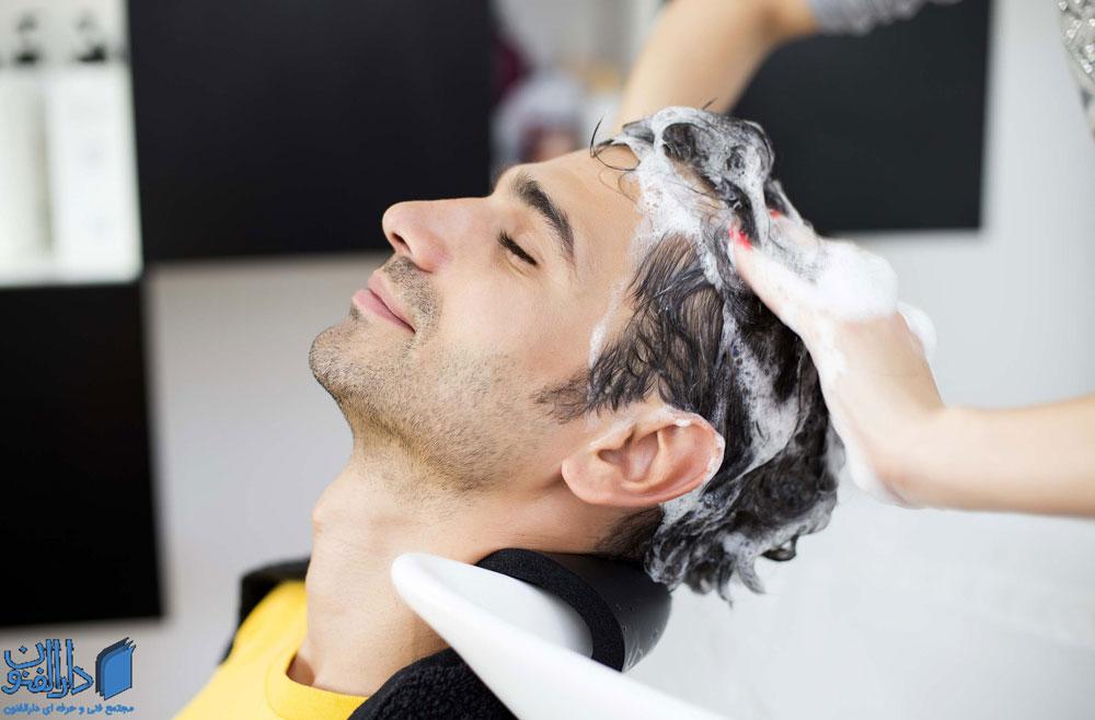 صاف کردن مو با مواد شیمیایی