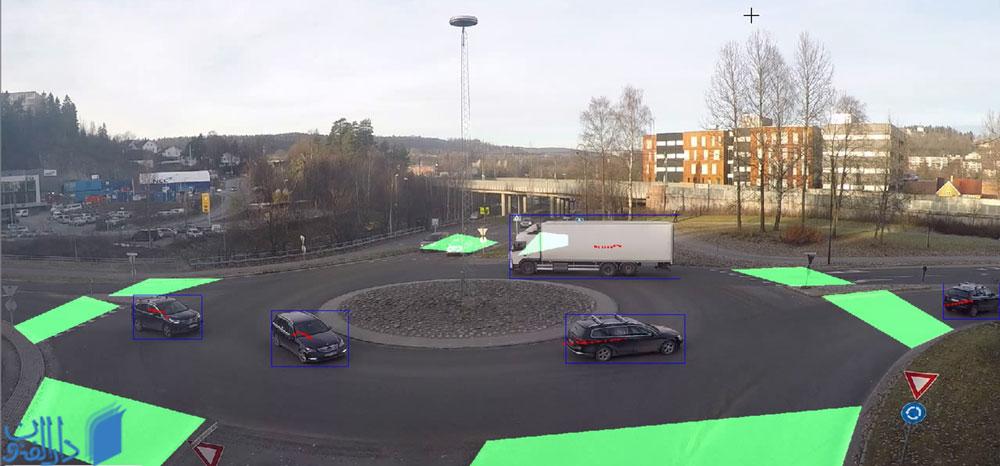 کنترل ترافیک با استفاده از دوربین های مداربسته