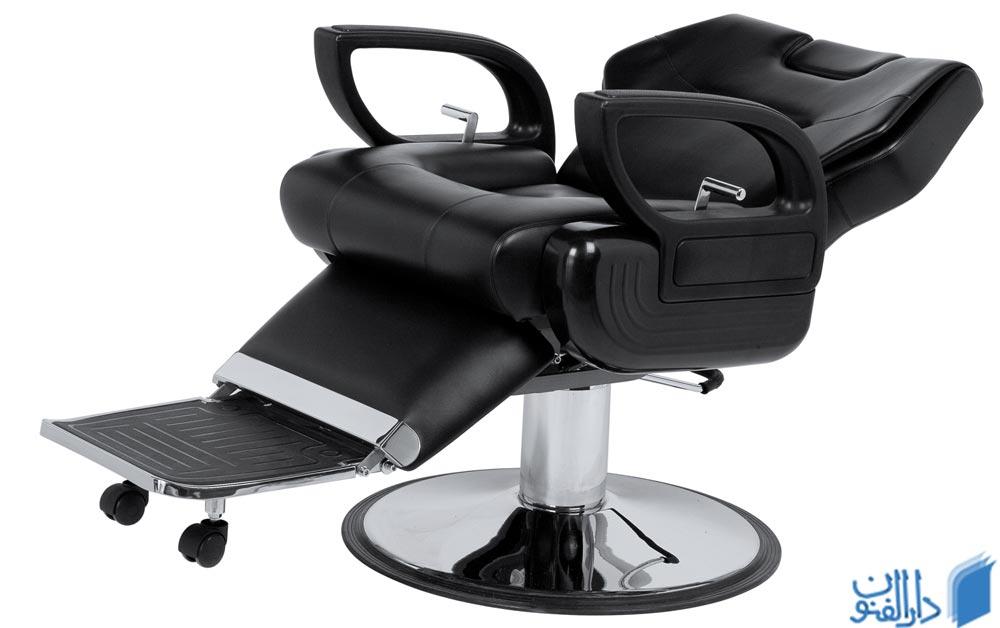 یکصندلی آرایشگاه مردانه نرم و راحت