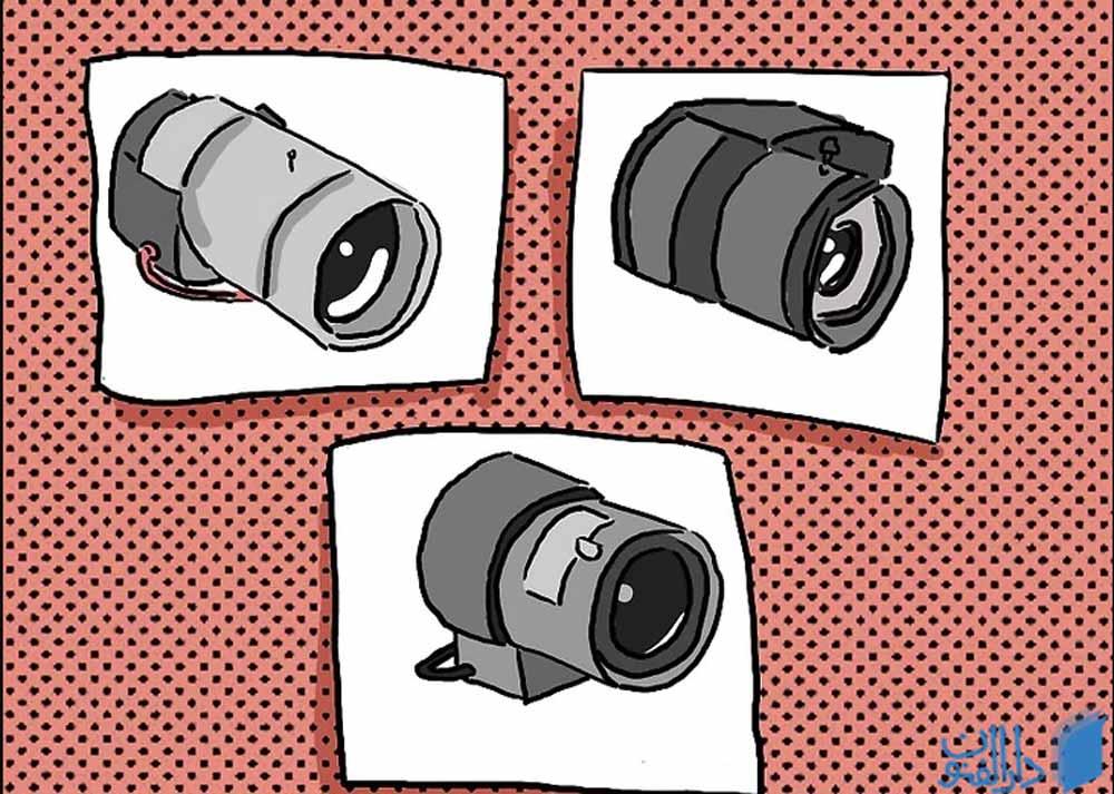 مرحله سوم: انتخاب لنز مناسب برای دوربین مداربسته