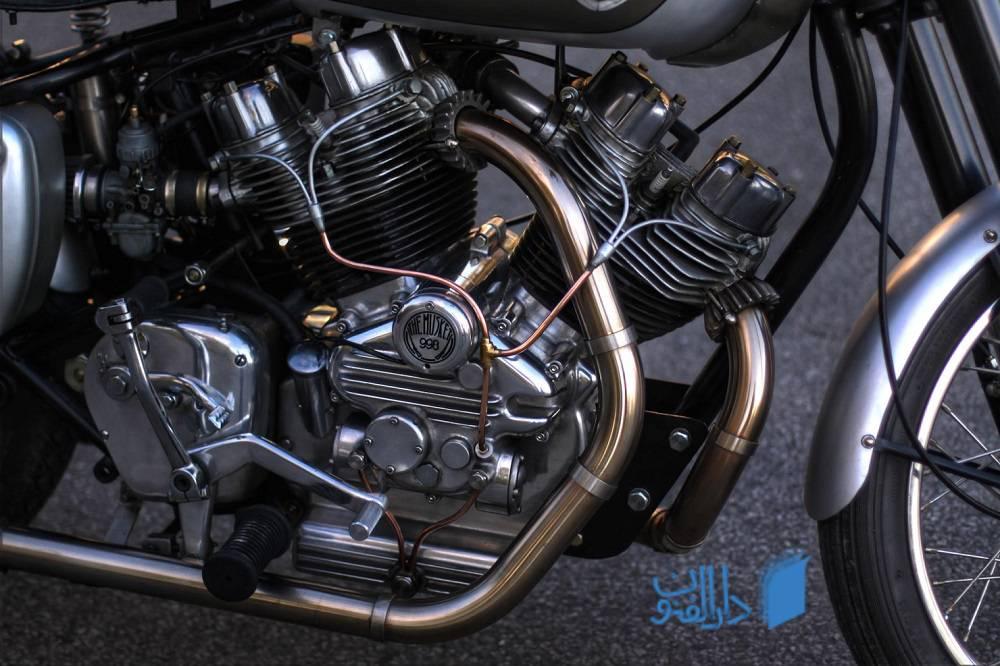 انجین موتور سیکیلت که برای حرکت موتور است