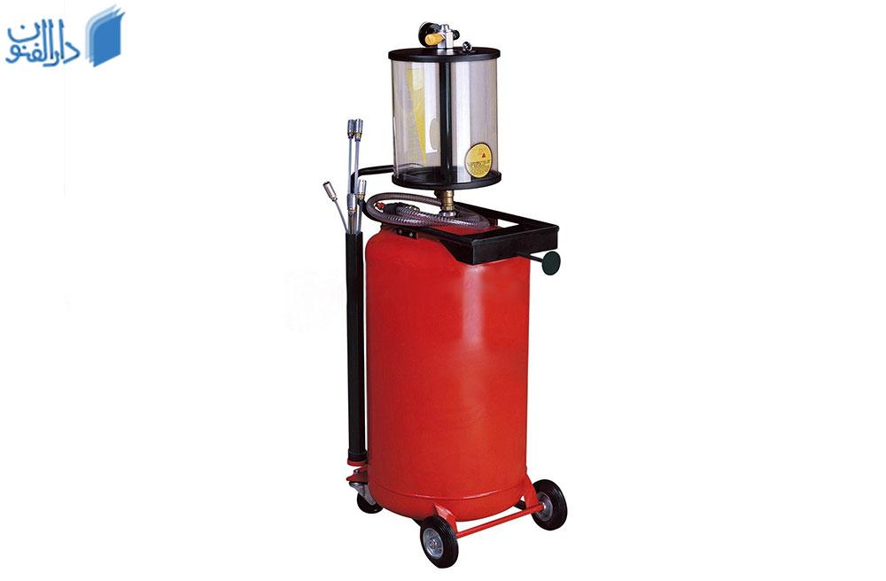 ساکشن روغن موتور یکی از تجهیزات تعویض روغنی