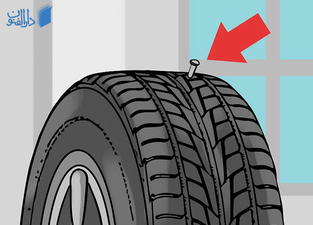 آموزش پنچرگیری تایر خودرو : نحوه پنچرگیری جزئی در منزل