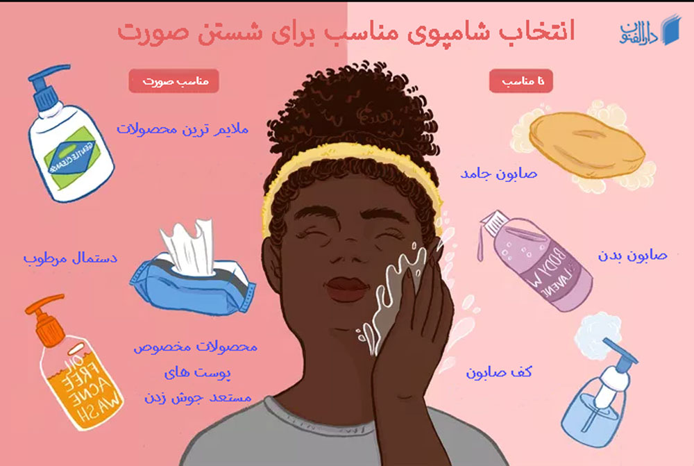 چه صابون هایی برای پوست صورت مناسب هستند؟