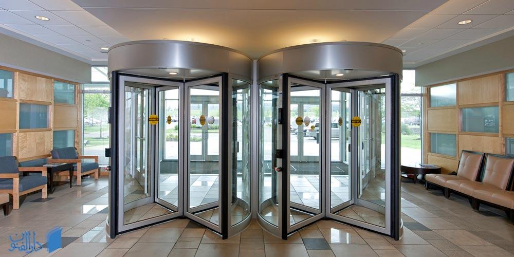 درب های شیشه ای اتوماتیک