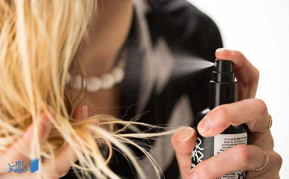 اسپری مو ضد حرارت